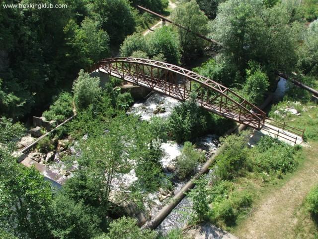 Bridge over Caras river - Caras Gorges