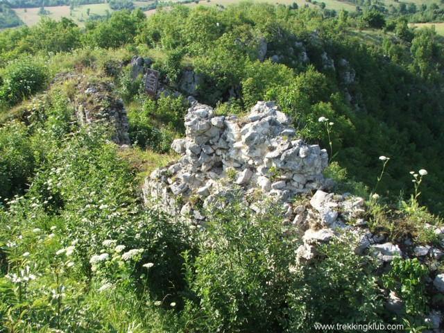 Caras fortress - Caras Gorges