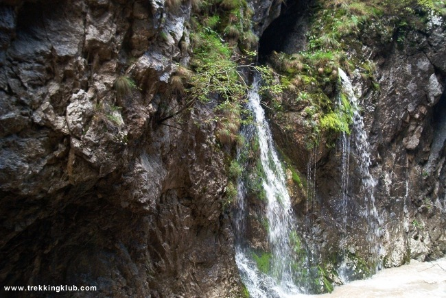 Waterfall Cave - Bicaz Gorges