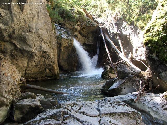 Duruitorarei Gorges, waterfall - Bicajel Valley