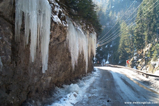 Bicaz Gorges - Cupas Mountain