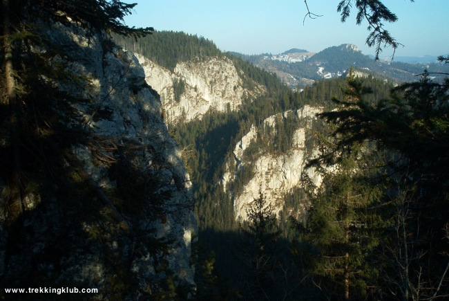 Bicaz Gorges - Cupas Mountain