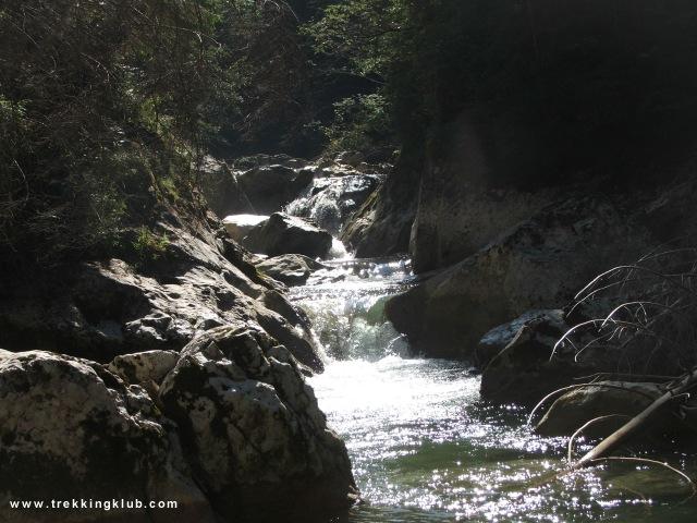Bicajel brook - Bicaz Gorges