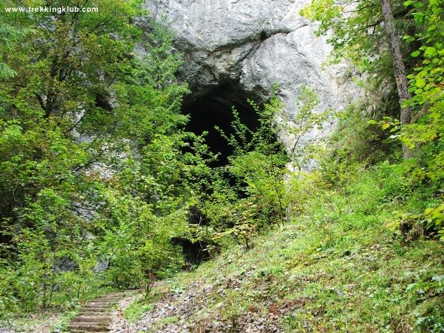 Poarta lui Ionel cave - Scarisoara cave