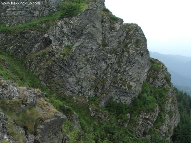 Pogolinu's steep wall - Pietrosu Bistritei