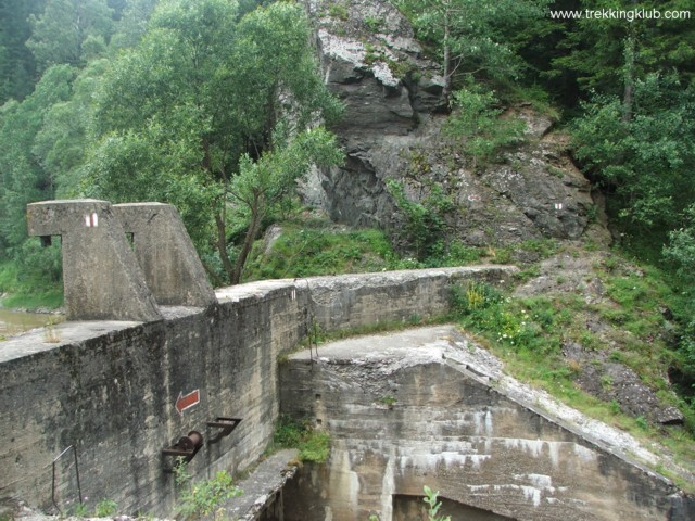 Trail-marking - Zugreni Gorges
