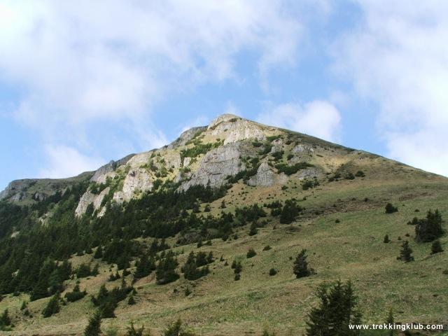 Varful cu Dor hegy - Vanturis