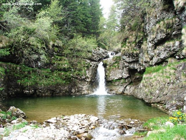 Cascada nr. 1 din Valea Izvorul Dorului - Vanturis