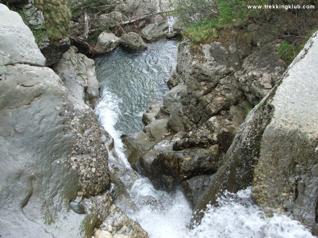 Cascada nr. 6 din Valea Izvorul Dorului - Vanturis