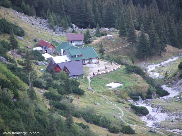 Malaiesti alpine hut - Goats Trail