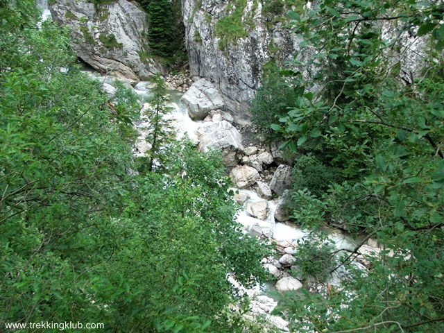 The creek - Brateiului Gorges