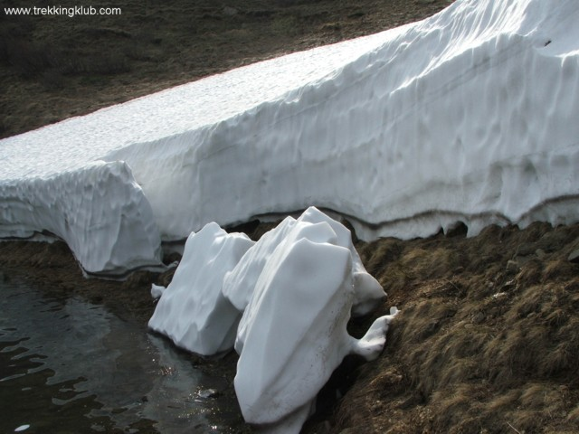 Snow - Eagles Lake