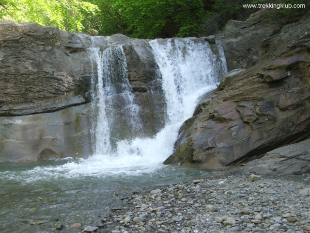 La Sipot waterfall - Chiojdu