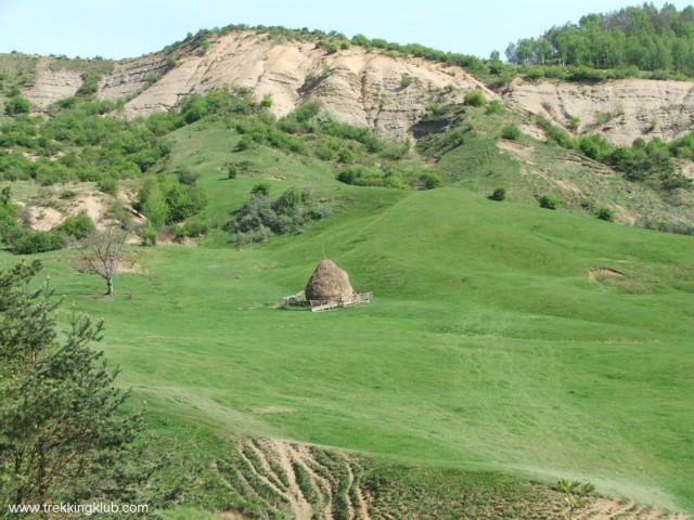 Brown hillside - Pietriceaua