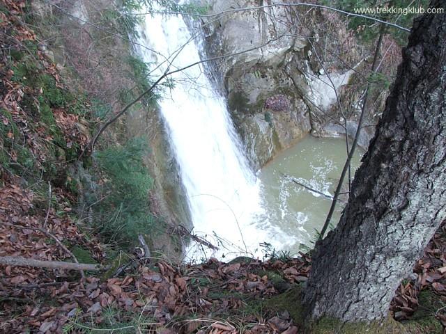 Cascada Casoca de sus - Cascada Casoca