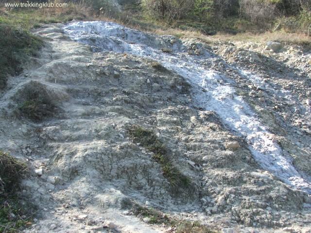Salt hill - Buzau Salt