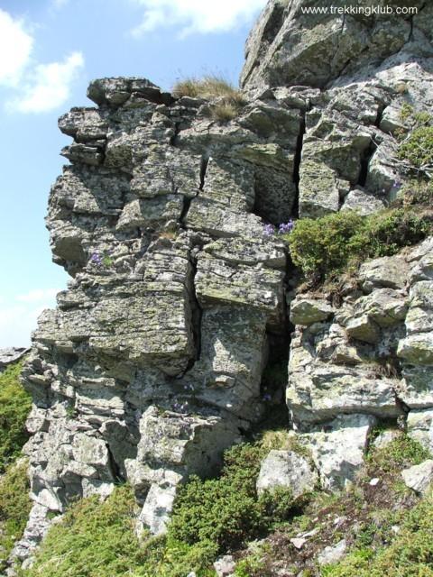 Cracked rock walls - Tamau