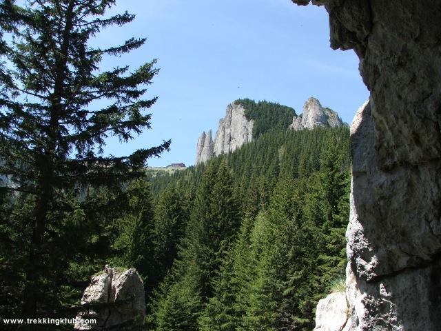 Calugarii - Cetatuia - Detunatele - Izvorul Muntelui - Toaca csúcs