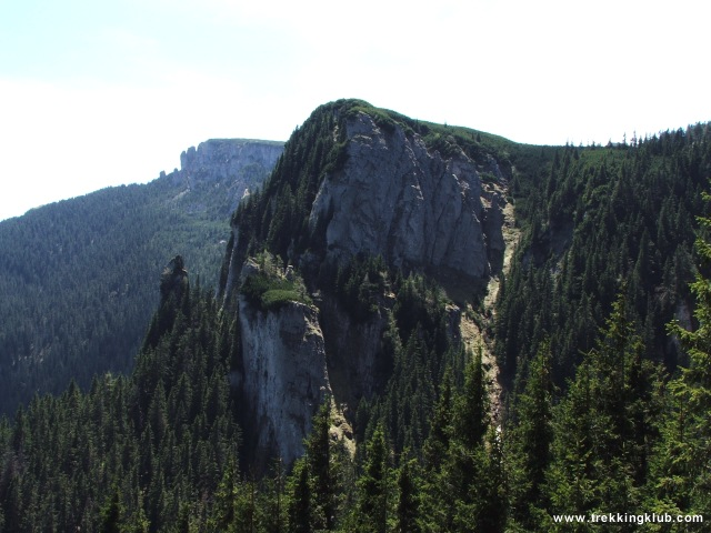 Piatra Lata din Ghedeon - Izvorul Muntelui - Toaca csúcs