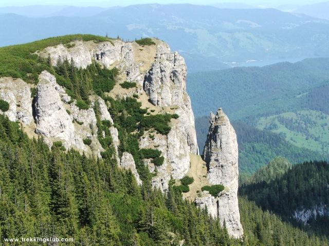 Cetatuia - Calugarii - Izvorul Muntelui - Toaca csúcs