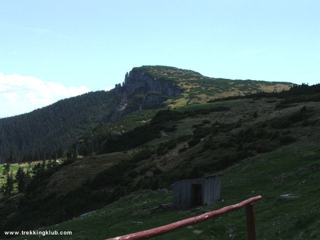 Nagy Aklos - Izvorul Muntelui - Toaca csúcs