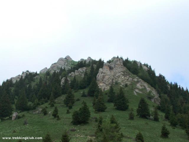 Mészkővek a Zaganu esztena mellett - Gropsoarele-Zaganu