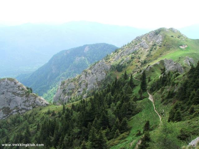 Kilátás a Zaganu-csúcsról - Gropsoarele-Zaganu