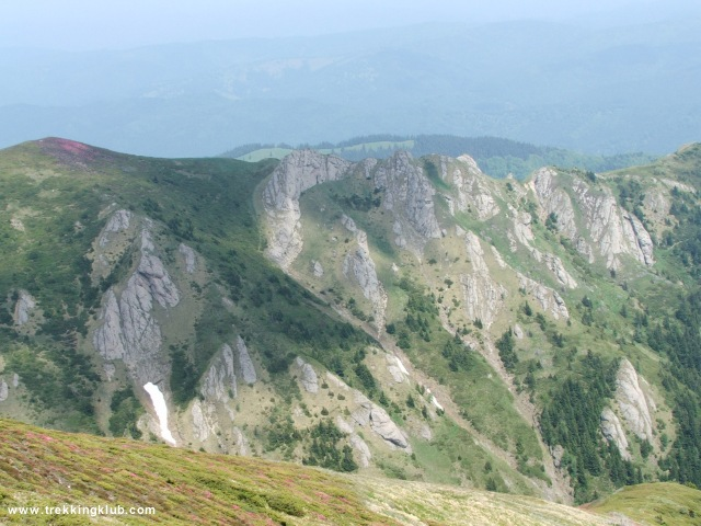 A Sziklás-gerinc - Gropsoarele-Zaganu