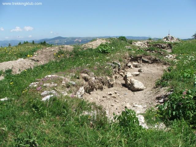 Ruine - Muntele Frumos