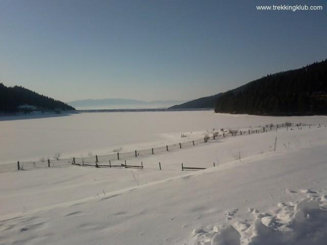 Lacul de baraj Frumoasa - Drumul Fanului