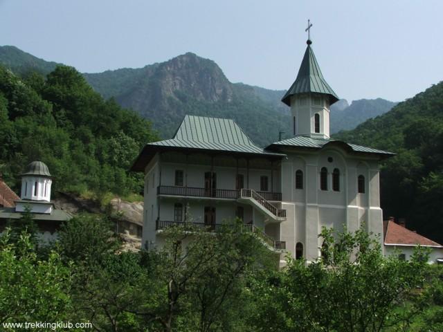 Turnu monastery - Cozia peak