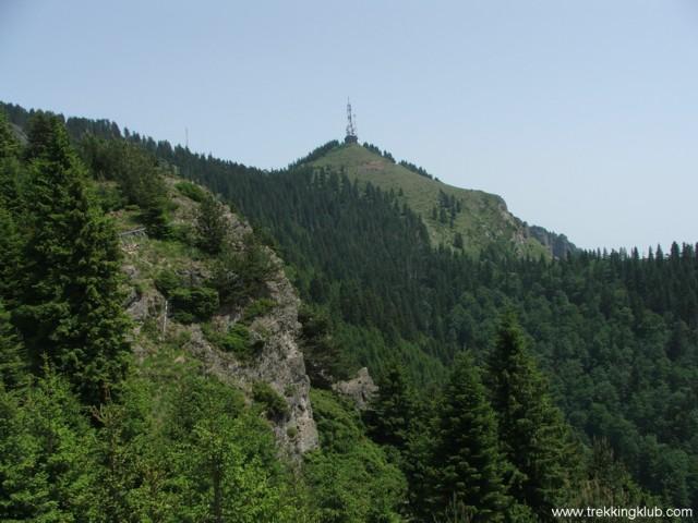 Ciuha Mica peak - Cozia peak