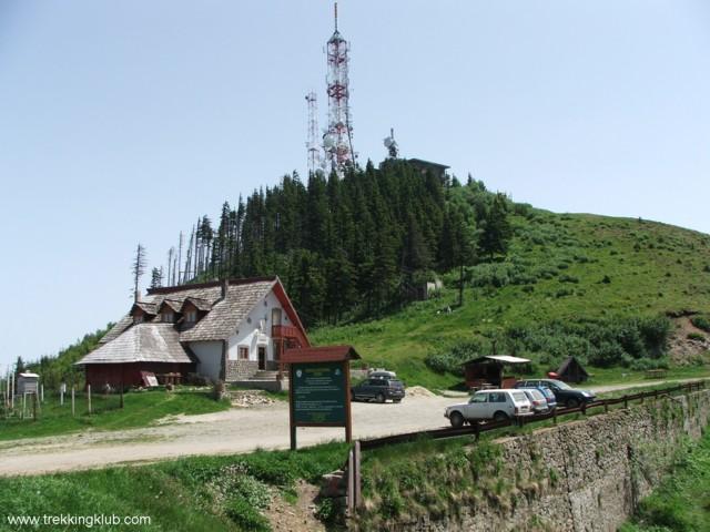 Cozia hostel - Cozia peak