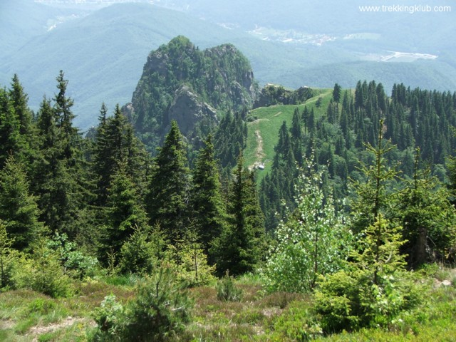Panorama 2 - Cozia peak