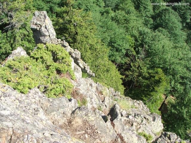 Lookout point near the Stone Portal - Cozia peak