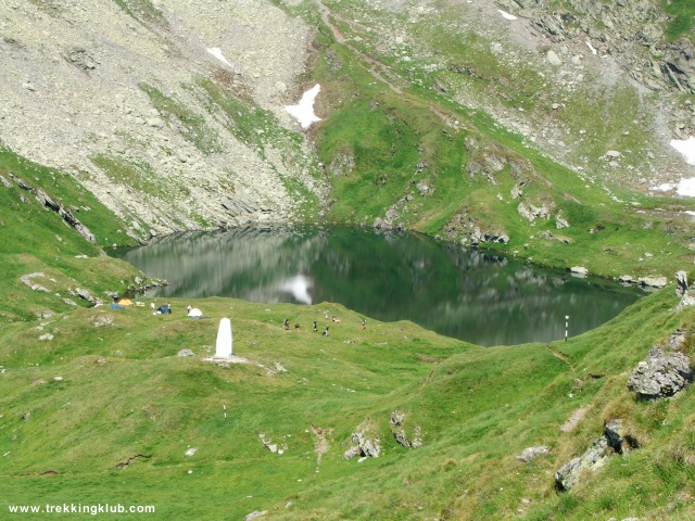 Zerge-tó - Moldoveanu-csúcs