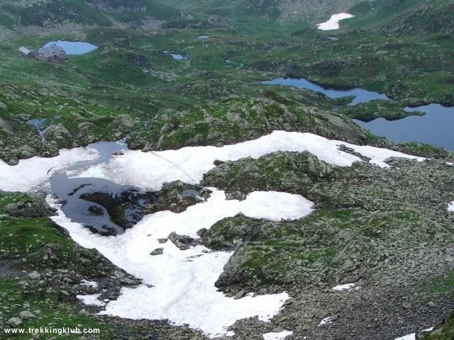 Podragu-tó - Moldoveanu-csúcs