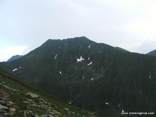 Vistea Mare (2527 m) - Moldoveanu (2544 m) - Moldoveanu-csúcs