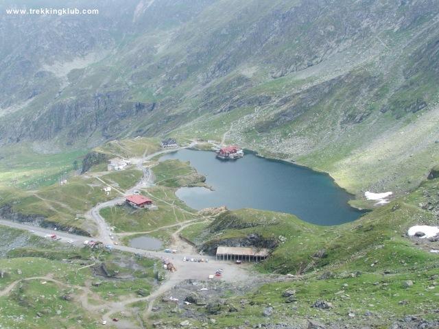 Bilea-tó - Negoj-csúcs