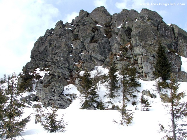 Spectacular rocks - Harghita Racu