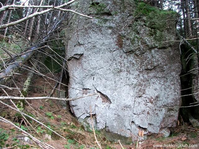Stanca de sub varf - Muntele Cucu