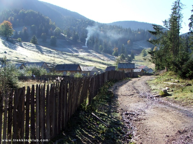 Valea paraului Oilor - Hasmasul Negru