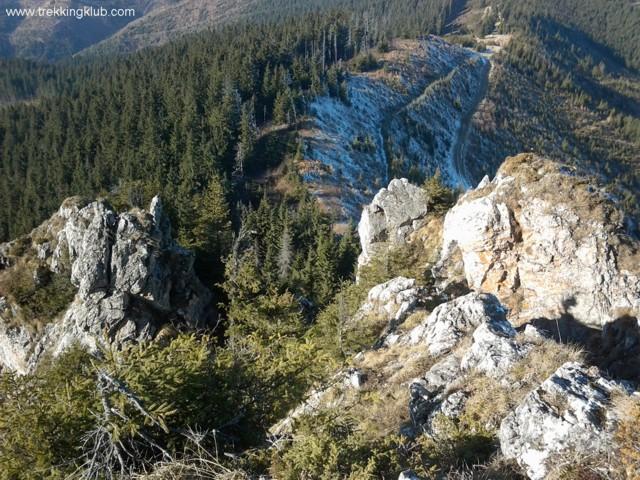 A Czofronka szikláiról - Czofronka