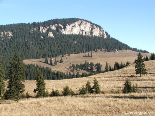 A Patkó-kő távolról - Czofronka