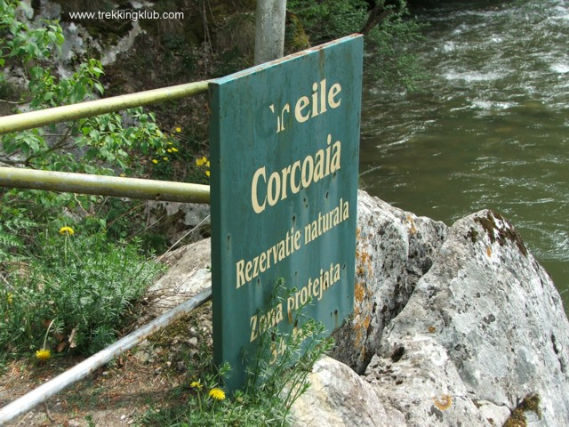Protected area - Corcoaia Gorges