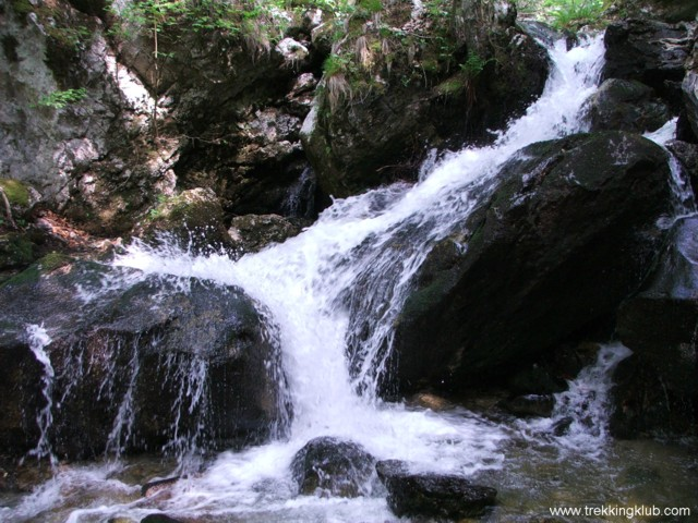 Habos víz - Ramnuta Mare vízesései