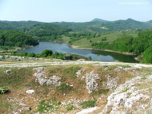 Lacul Zaton - Campurile de lapiezuri