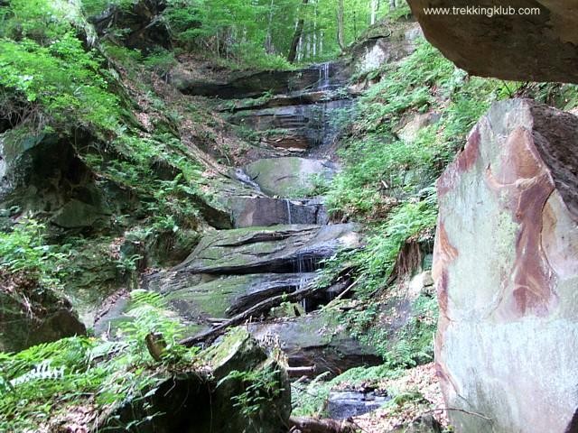 Lépcsős-vízesés - A kőbánya vízesései