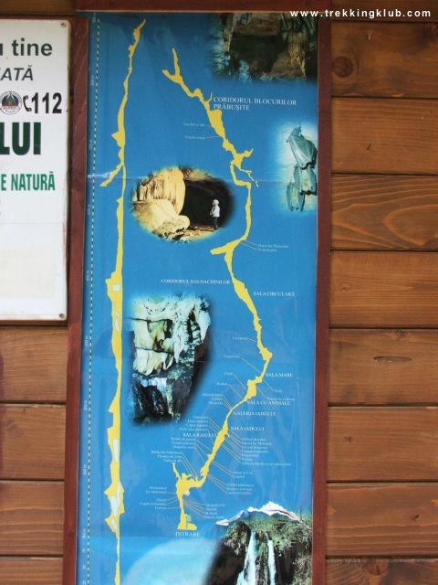 Körösrévi Zichy-barlang, térkép - Körösrévi Zichy-barlang
