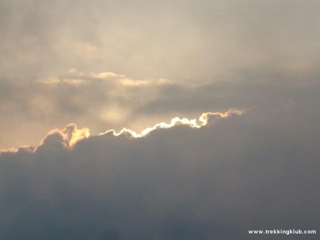 Apus de soare - Piatra Craiului